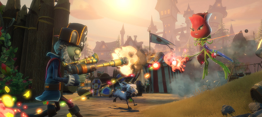 Análisis de Plants vs. Zombies Garden Warfare 2