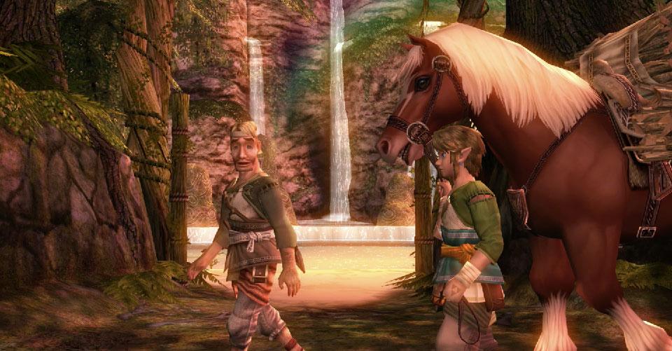 The Legend of Zelda: Twilight Princess HD: Reverso tenebroso