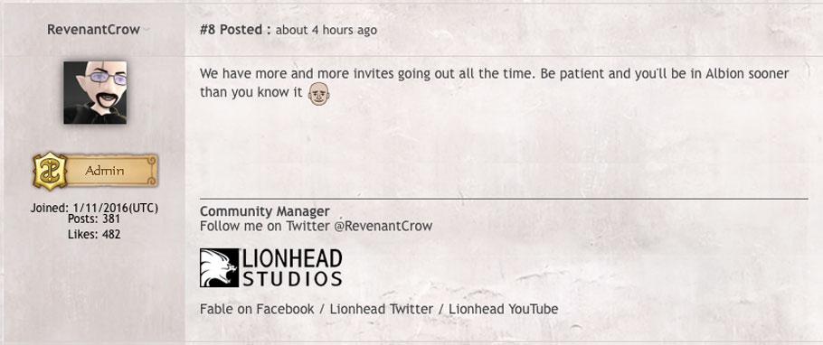 Lionhead Studios cierra tras la cancelación de Fable Legends