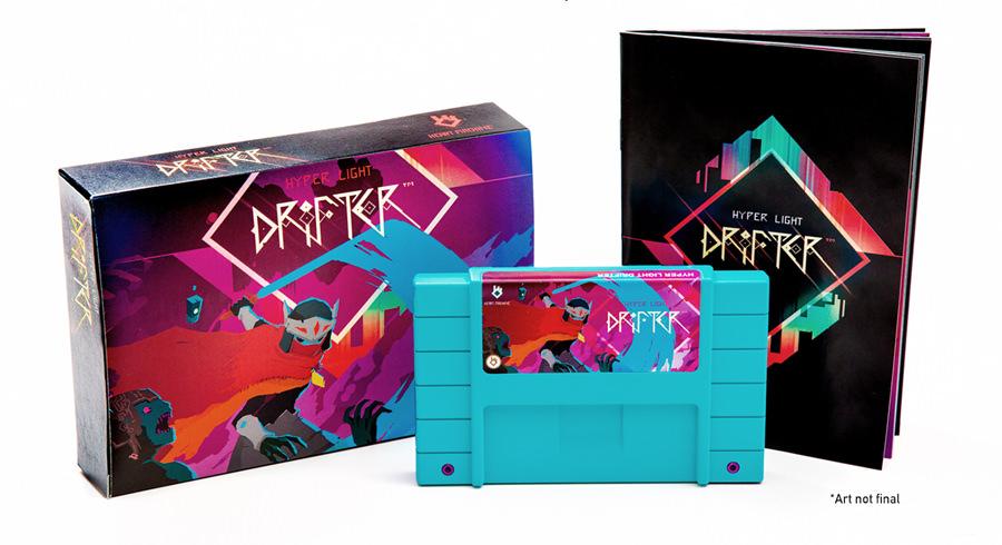 La edición para coleccionistas de Hyper Light Drifter es una preciosidad