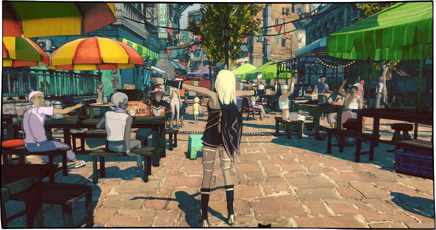 El encanto como base del diseño: impresiones de Gravity Rush 2