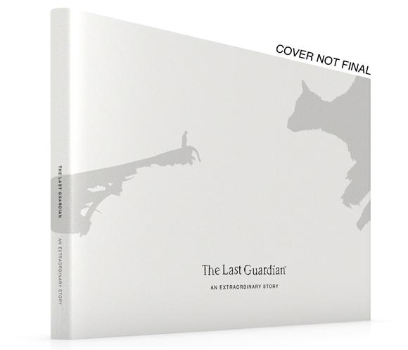 El libro oficial de The Last Guardian llegará en febrero