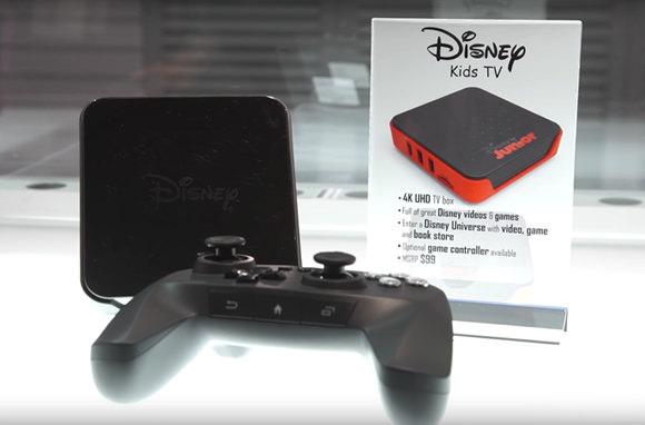 Aparece en el CES la primera consola de Disney... más o menos