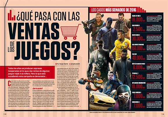 Estos fueron los juegos más vendidos en España durante 2016