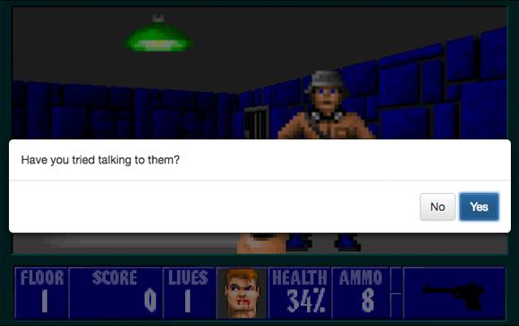 Dialogue 3-D: ¿Está bien golpear a un nazi?