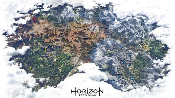 Horizon Zero Dawn silencioso: el arte y el descarte