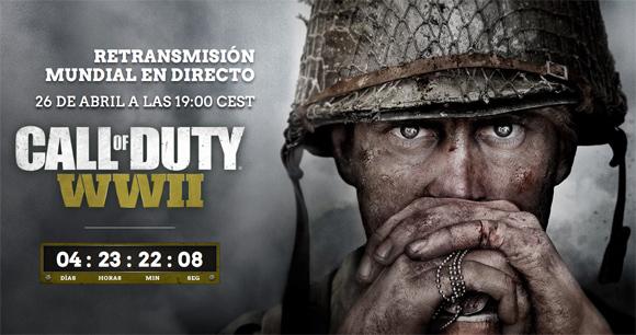 Una cuenta atrás confirma que el próximo Call of Duty será en la Segunda Guerra Mundial