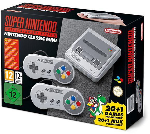 Anunciada la Super Nintendo Mini, que saldrá el 29 de septiembre