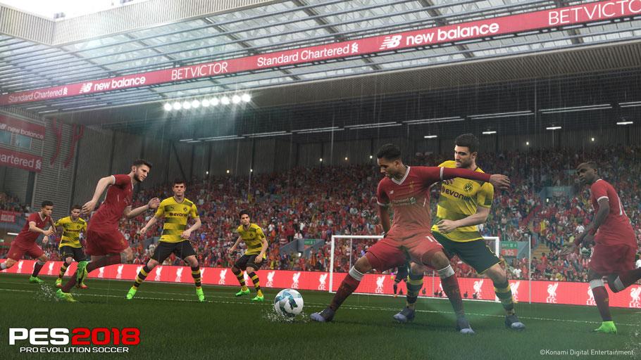 Análisis de Pro Evolution Soccer 2018