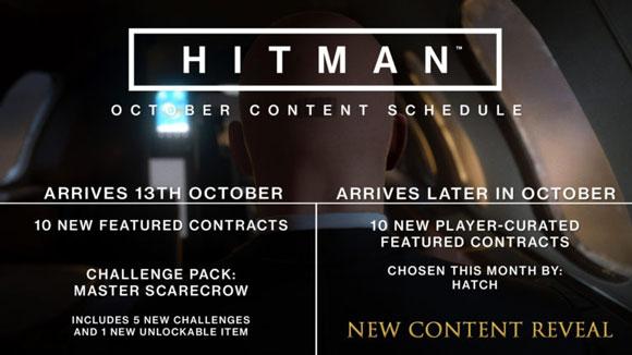 IO Interactive añade nuevo contenido a Hitman este mes