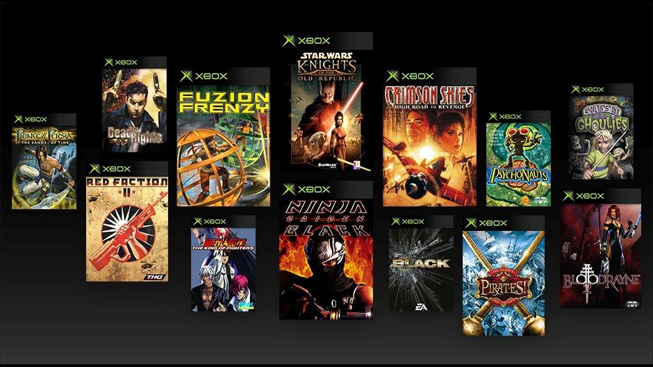 Estos 13 Juegos De La Xbox Original Ya Se Pueden Jugar En Xbox One