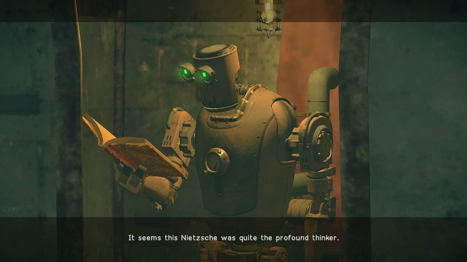 ¿Sueñan los androides con idealismo alemán?