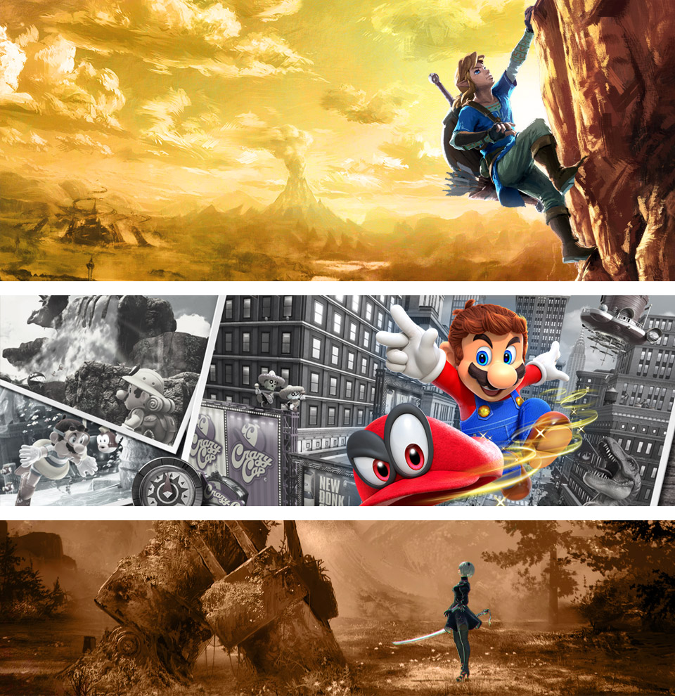 Los mejores juegos de 2017, según los lectores