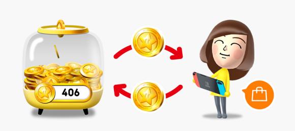 A partir de marzo los Puntos de Oro de Nintendo podrán cambiarse por juegos de Switch