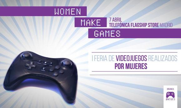 Women Make Games es la primera feria de videojuegos realizados por mujeres
