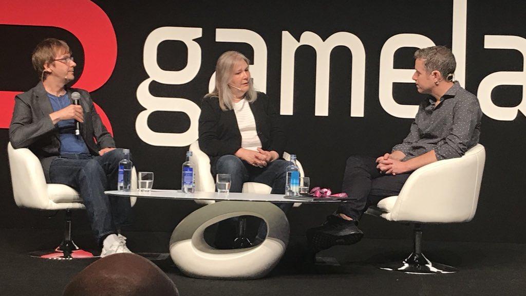 Gamelab 2018: Las batallas y las batallitas de Amy Hennig
