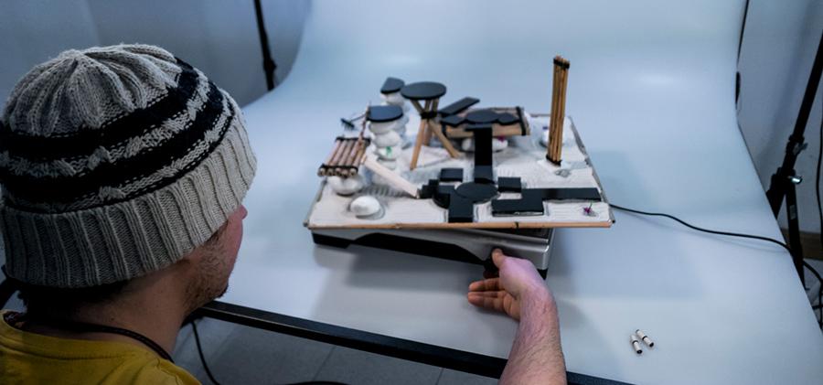 Ato: dioramas artesanales con fotogrametría navarra