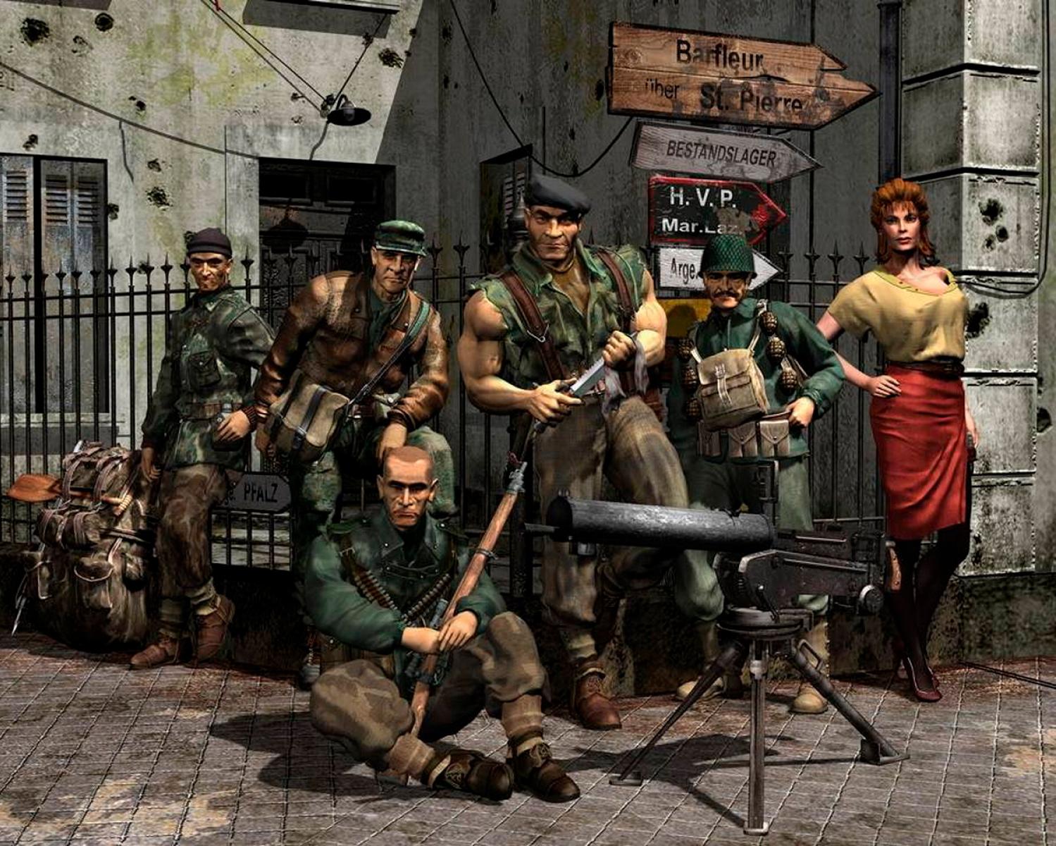 Kalypso compra los derecho des Commandos y promete «revivir y desarrollar» juegos