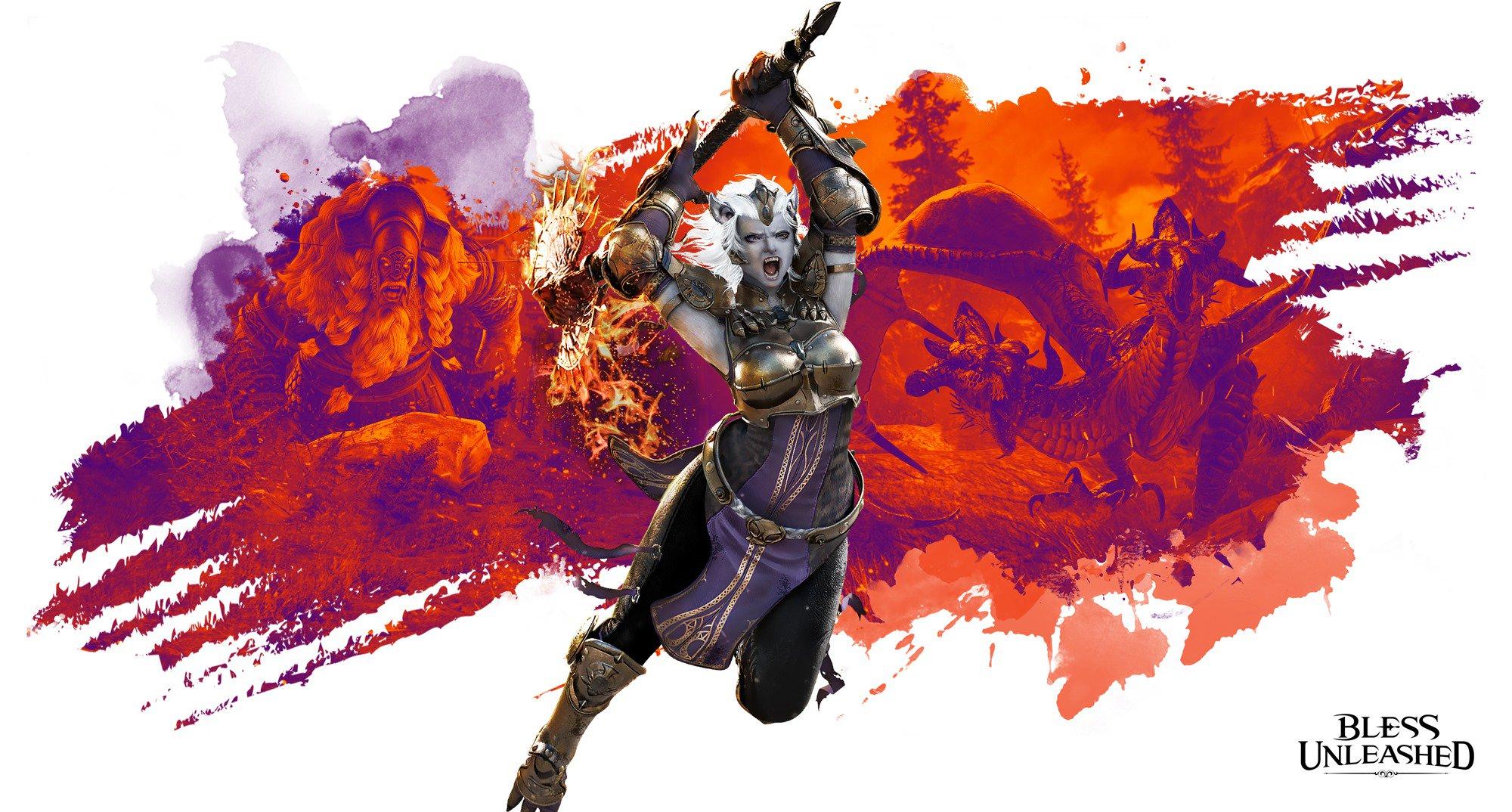 Bandai Namco anuncia su nuevo MMORPG para Xbox One: Bless Unleashed