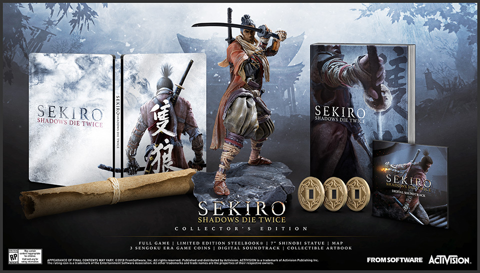 Sekiro: Shadows Die Twice saldrá el 22 de marzo