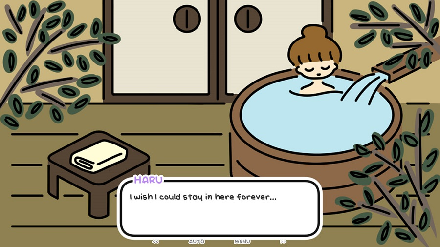 La visual novel One Night, Hot Springs ya se encuentra disponible en Steam