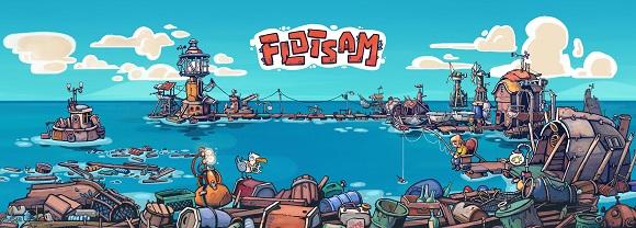 Flotsam, el juego de estrategia inspirado en Waterworld, llegará en 2019