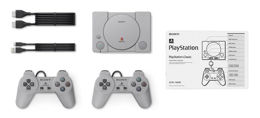PlayStation Classic es la versión mini y con 20 juegos de la primera consola de Sony
