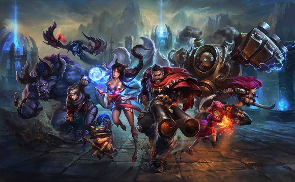 League of Legends es el videojuego más popular y el que más tráfico genera en Europa