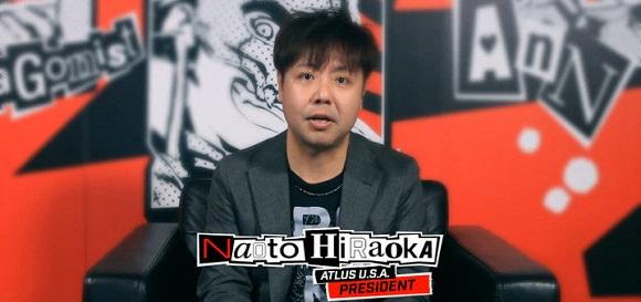 Naoto Hiraoka, presidente y CEO de Atlus USA, deja su puesto