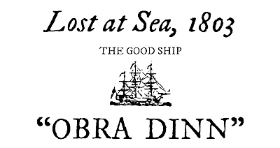 Análisis de Return of the Obra Dinn