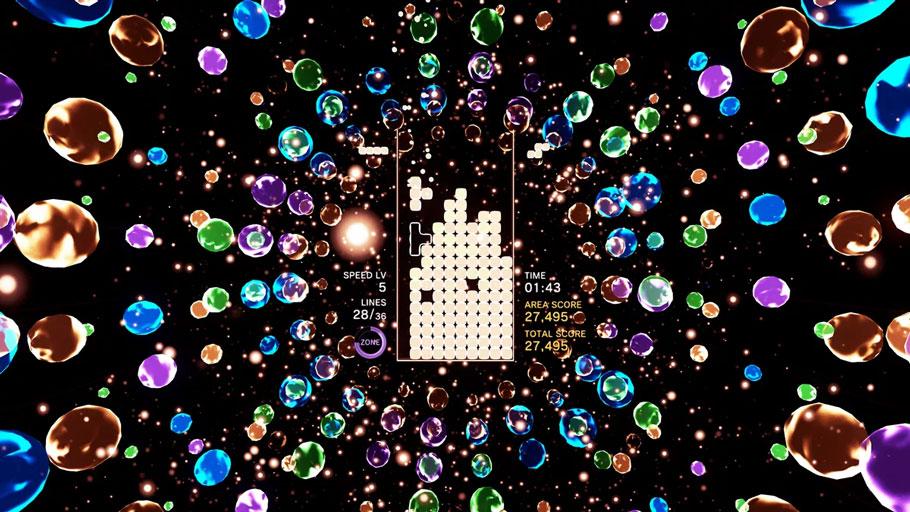 Análisis de Tetris Effect