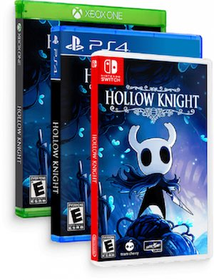 La versión física de Hollow Knight se cancela