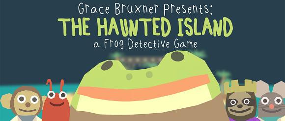 The Haunted Island - A Frog Detective Adventure solo quiere hacer reír (y lo consigue)