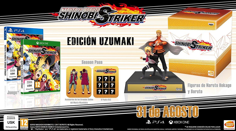 Naruto to Boruto: Shinobi Striker saldrá el 31 de agosto