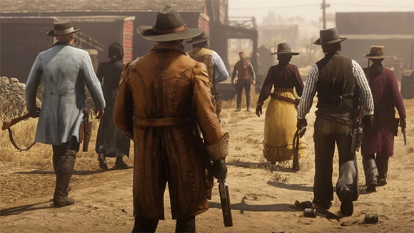 Red Dead Online añade su modo battle royale