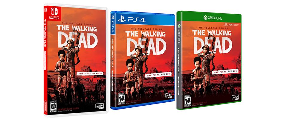 El episodio final del The Walking Dead de Telltale llega el 26 de marzo acompañado de edición física