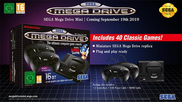 SEGA anuncia una Mega Drive Mini que incluirá 40 juegos