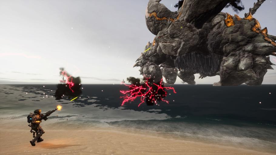 Análisis de Earth Defense Force: Iron Rain