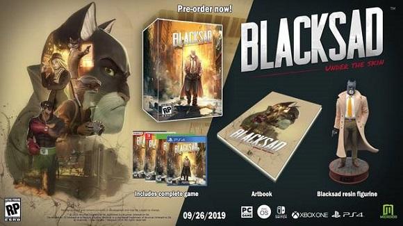 Blacksad: Under the Skin llegará a PC y consolas el 26 de septiembre
