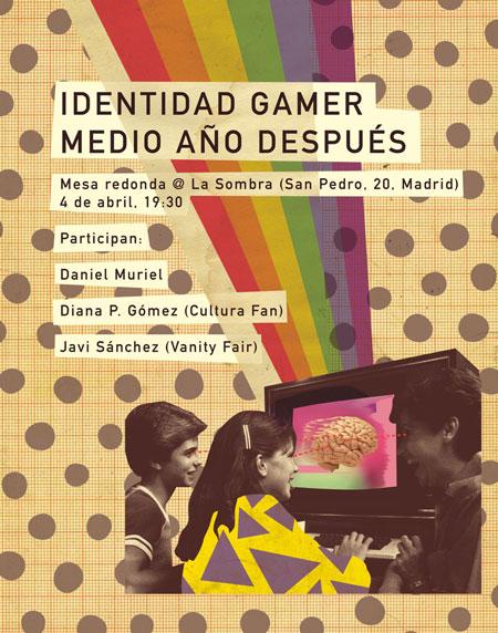 Mañana, en librería La Sombra, nuevo evento de Identidad gamer con Daniel Muriel