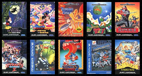 SEGA anuncia 10 juegos más para Mega Drive Mini
