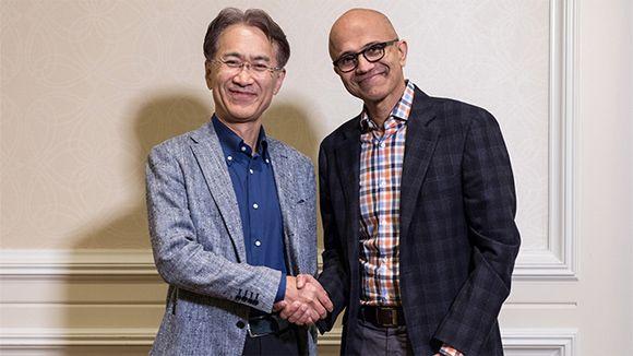 Sony y Microsoft colaborarán en el desarrollo de sus servicios de streaming