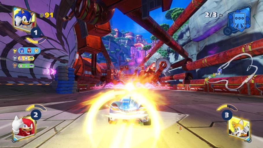 Análisis de Team Sonic Racing