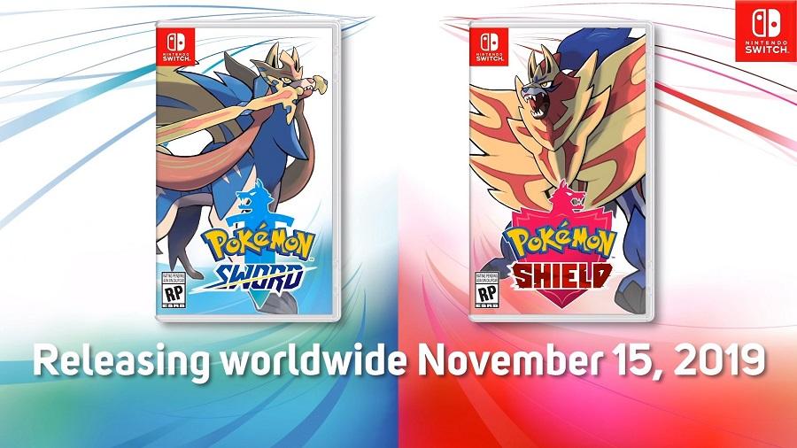 Pokémon Espada y Escudo llegarán a Nintendo Switch el próximo 15 de noviembre