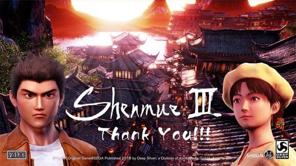 Shenmue III se retrasa hasta noviembre