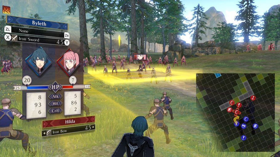 Análisis de Fire Emblem: Three Houses