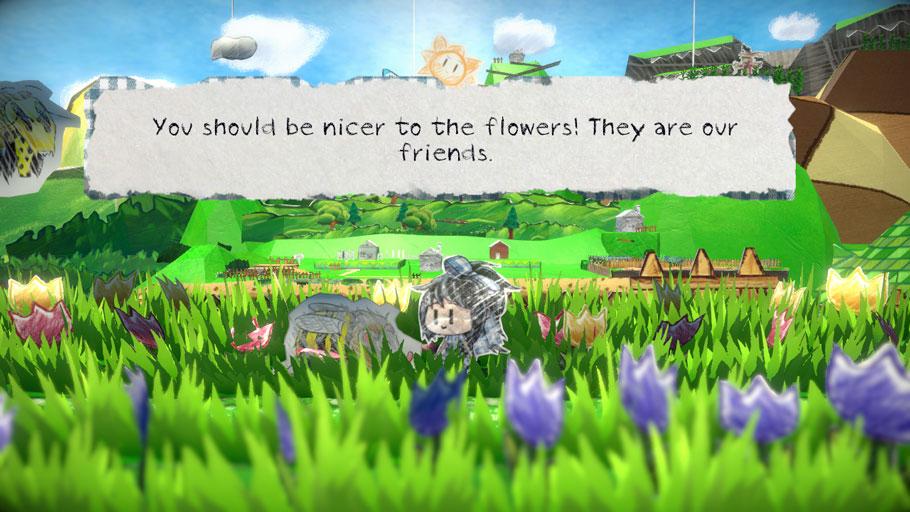 Scrap Story es un RPG indie que recoge el testigo de Paper Mario