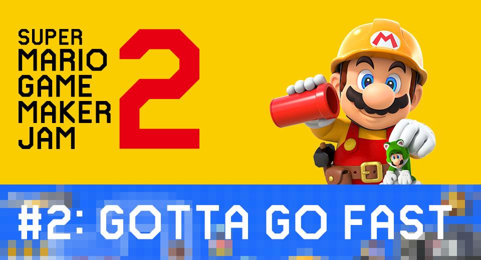 Trabajad en vacaciones gracias a la segunda edición de la Super Mario Game Maker Jam 2