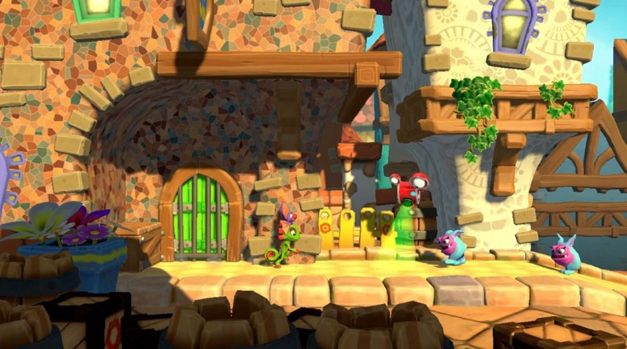 Análisis de Yooka-Laylee and the Impossible Lair