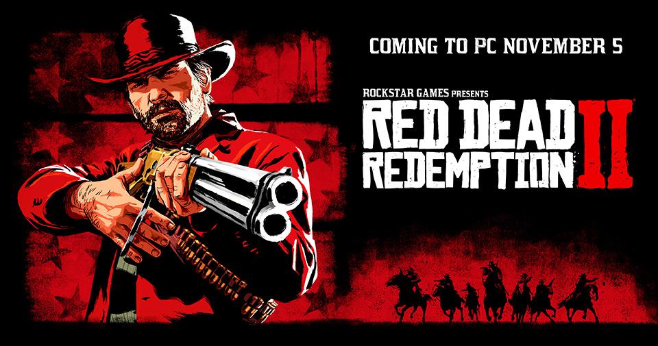 Red Dead Redemption 2 llegará a PC el 5 de noviembre